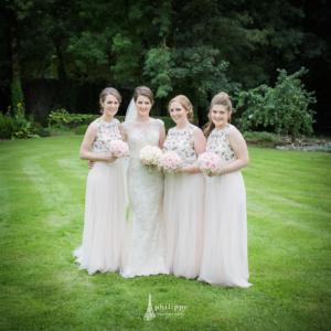 Bridal party shoot