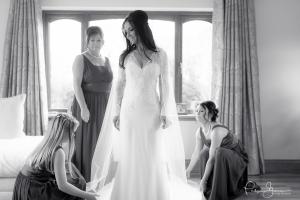 wedding bride bridesmaids