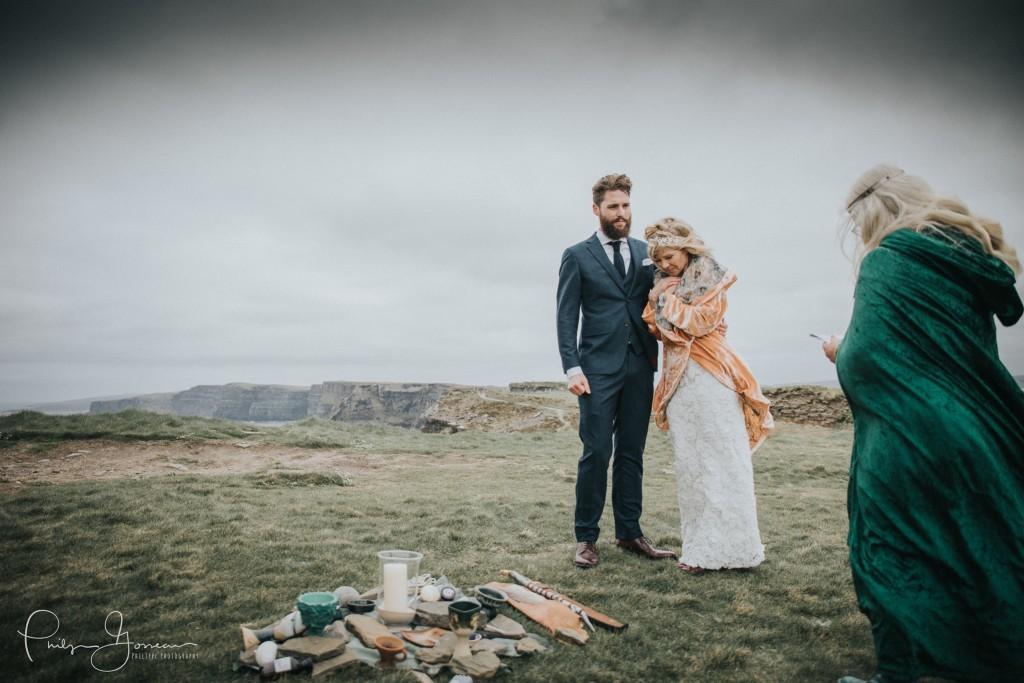 cliffs moher wedding