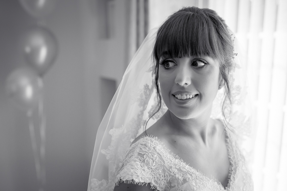 black and white, bride, wedding , limerick