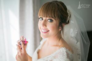 bridal portrait, wedding in limerick