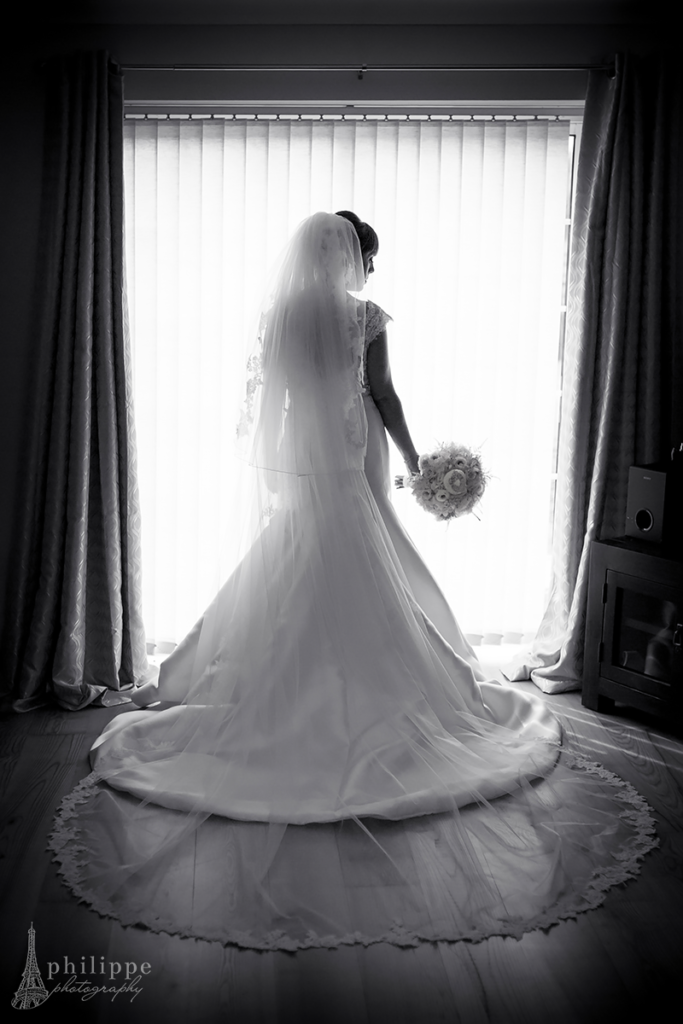 black and white, bride, wedding , limerick,preparations