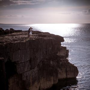 wedding, gregan's castle, burren, clare