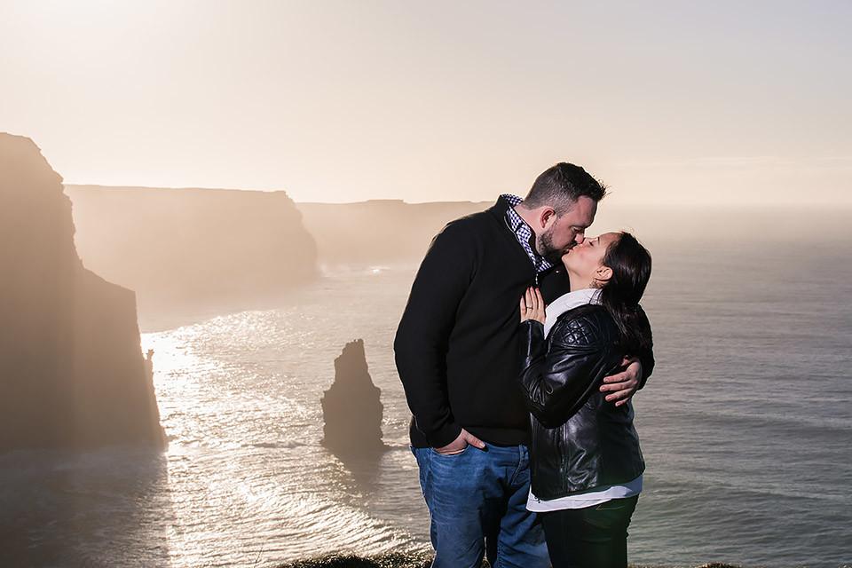 engagement Ireland Clare Cliffs