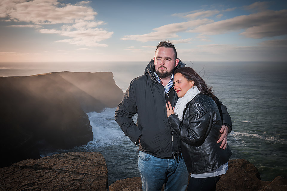 engagement Ireland Clare Cliffs