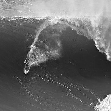Big wave surfing Cliffs of Moher