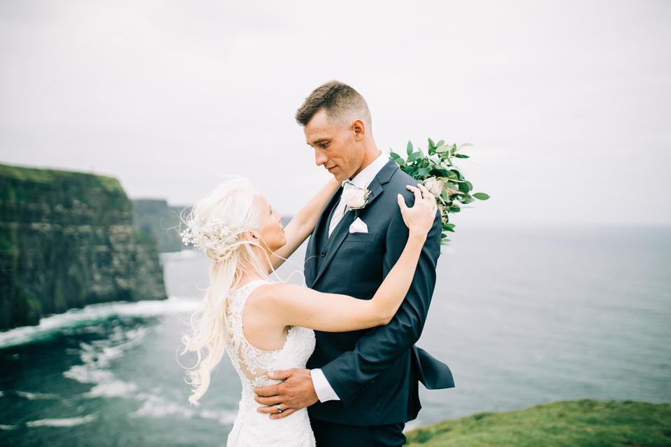 cliffs of moher elopement photographer