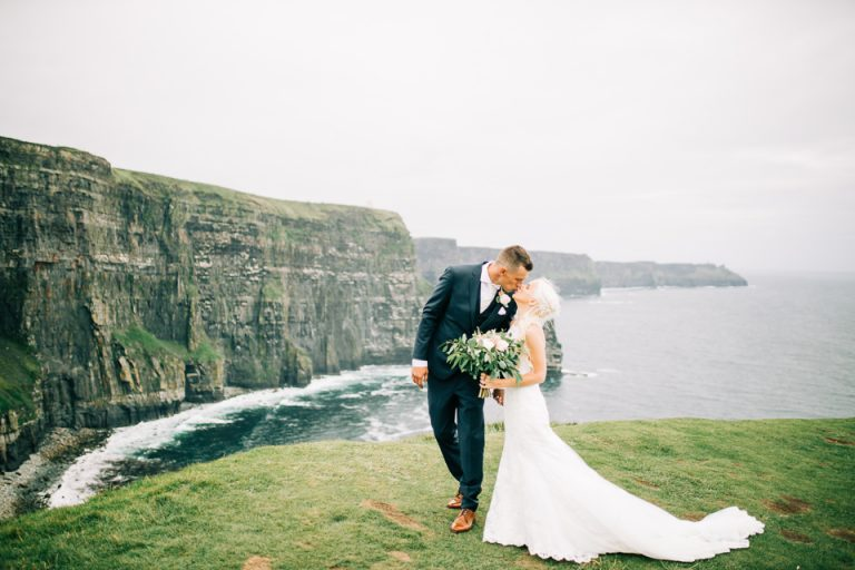 cliffs of moher elopement photographer