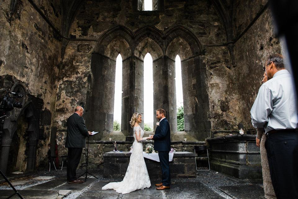 Ancient Abbey elopement