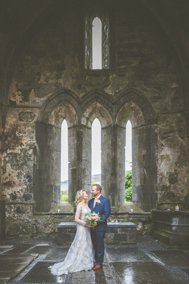 Ancient Abbey elopement